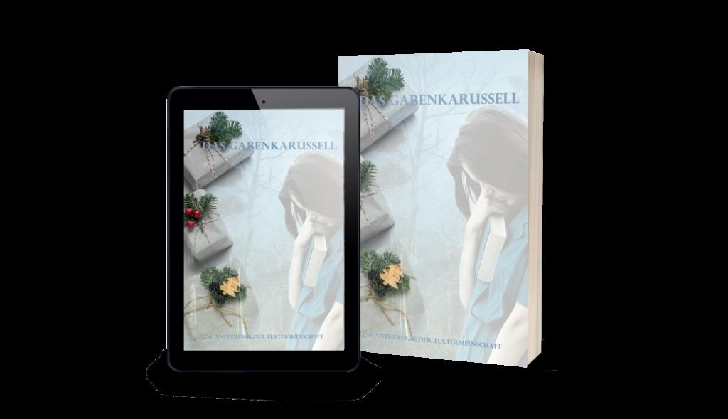 Cover Gabenkarussell, Anthologie, Kurzgeschichtenband